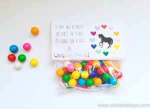 Unicorn Valentine Printable – Perfect for the Classroom! (she: Sierra)