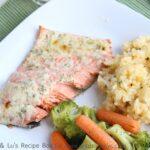 Lemon Parmesan Salmon Recipe