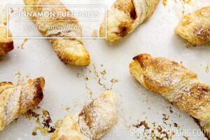 Cinnamon Puff Rolls – Only 3 Ingredients! (she: Lisa)