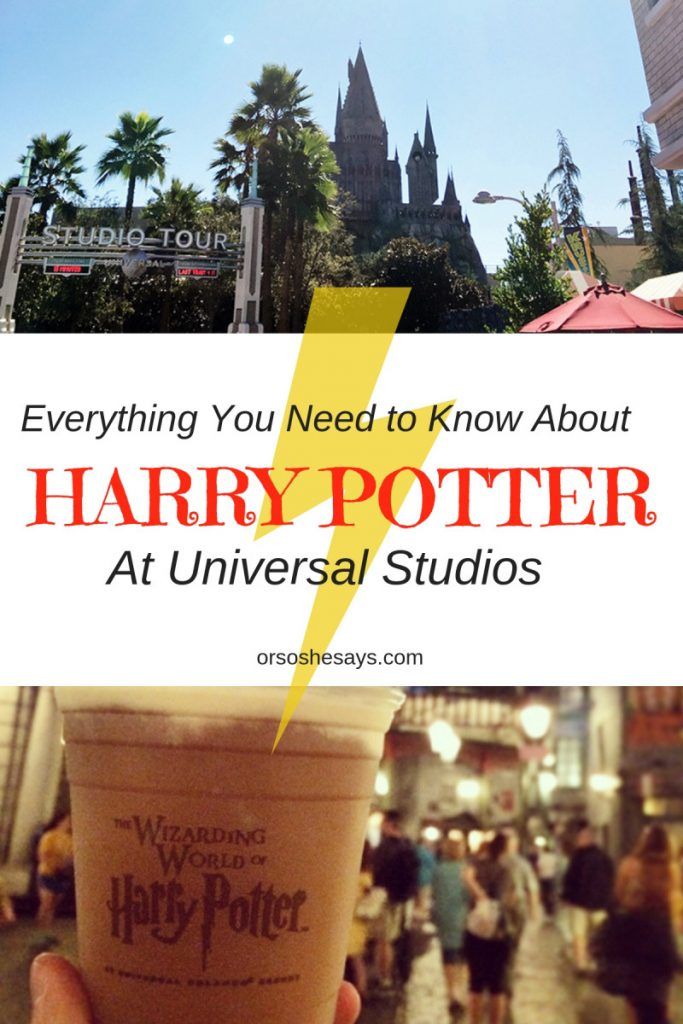 The Wizarding World of Harry Potter is open on the west coast at Universal Studios Hollywood! If you've been thinking about planning a trip to California, now is the time. Here is everything every witch, wizard and muggle needs to know about Harry Potter at Universal Studios! www.orsoshesays.com