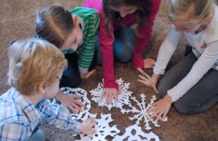 We Are All Unique - A Family Night Lesson Inspired by Snowflakes