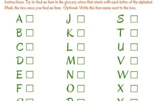 This is such a fun way to keep the kiddos entertained at the grocery store, so I can shop! The Alphabet Scavenger Hunt is great for kids, both old and young. I also love the Color Scavenger Hunt! www.orsoshesays.com
