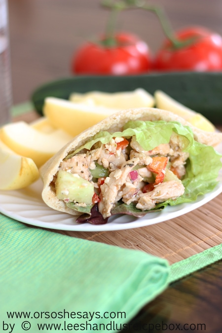 Greek Chicken Pitas (14) OSSS