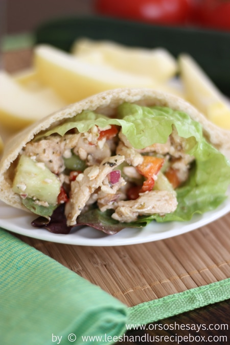 Greek Chicken Pitas (22) OSSS