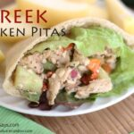 Greek Chicken Pitas (she: Leesh & Lu)