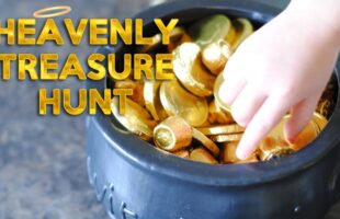 Heavenly Treasure Hunt - Family Night Idea