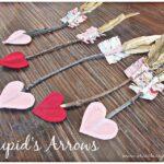 Kid Friendly Valentine Craft – Cupid's Arrows (she: Kari)