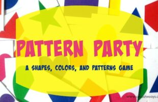 Pattern Party: A Shapes, Colors, and Patterns Game! (she: Jessie)