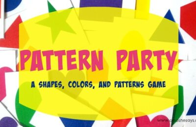 Pattern Party: A Shapes, Colors and Patterns Game