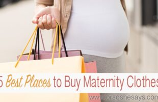 5 Best Places to Buy Maternity Clothes