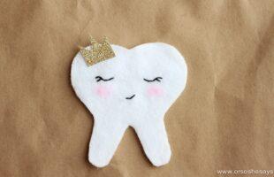Tooth Fairy Ideas – Tooth Pocket Tutorial (she: Sierra)