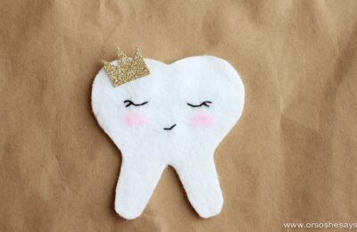 Or So She Says- Tooth Pocket Tutorial