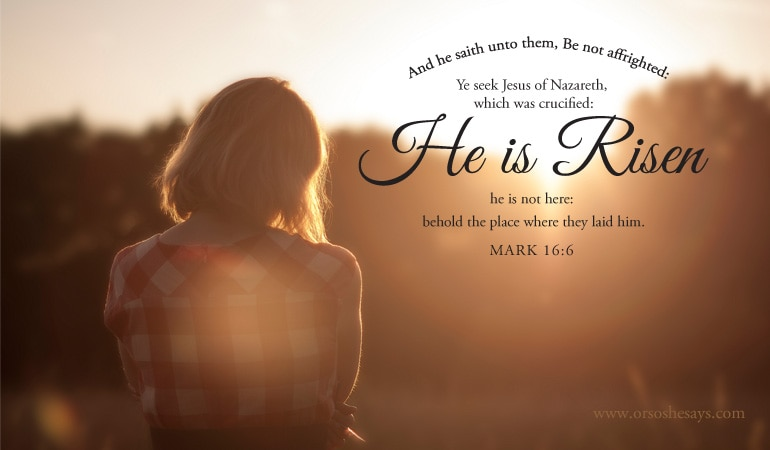 Easter Scriptures to Ponder on www.orsoshesays.com