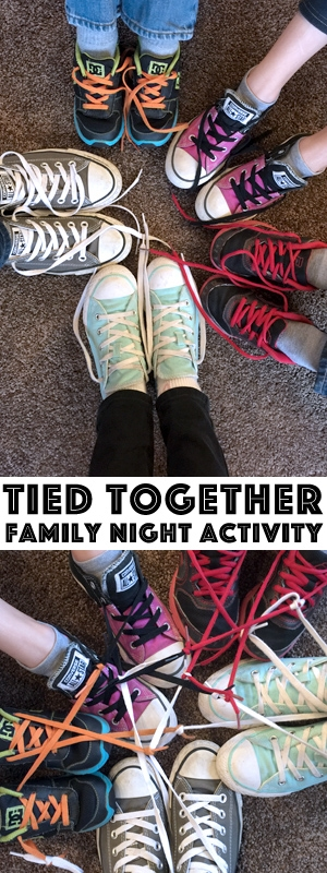 Check out this awesome Family Night lesson, which has an activity and treat idea all mapped out for you! It's a great way to get the family to remember the importance of spending time