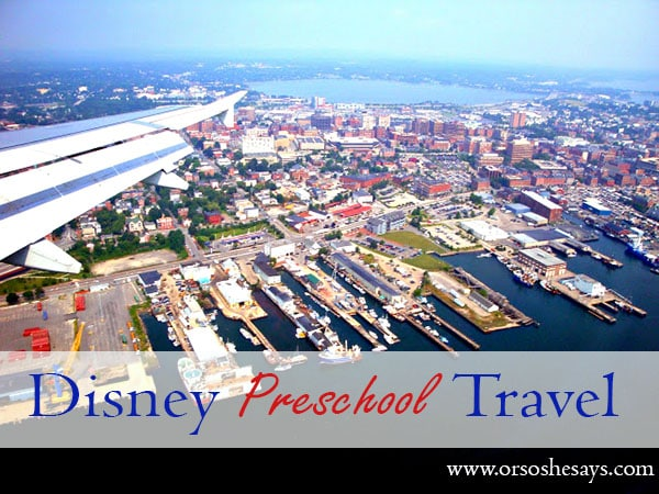 Disney Preschool Travel