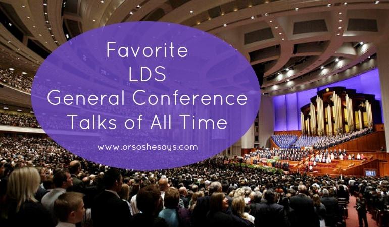 general conference talks