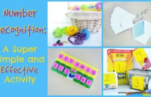Number Recognition: A Super Simple and Effective Activity