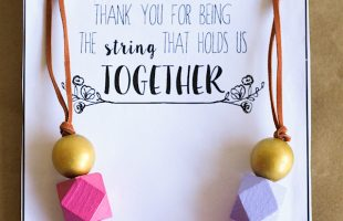 Mother's Day Necklace and Printable (she: Sierra)