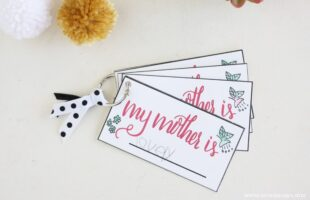 Free Printable Mother's Day Cards ~ Hand-lettered in Style (she: Liz)