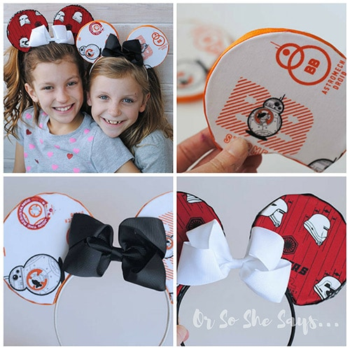 DIY Mickey Ears - Customize them and save a ton of money doing so!