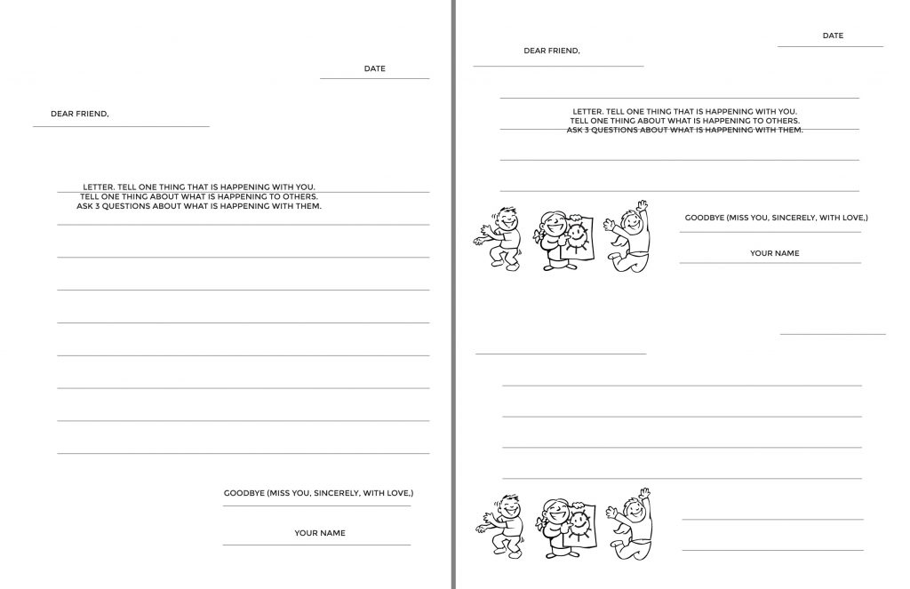 Traditional Letter Writing Templates