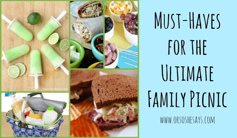 Family Picnic Must-Haves ~ the Best Recipes and Products! (she: Mariah)