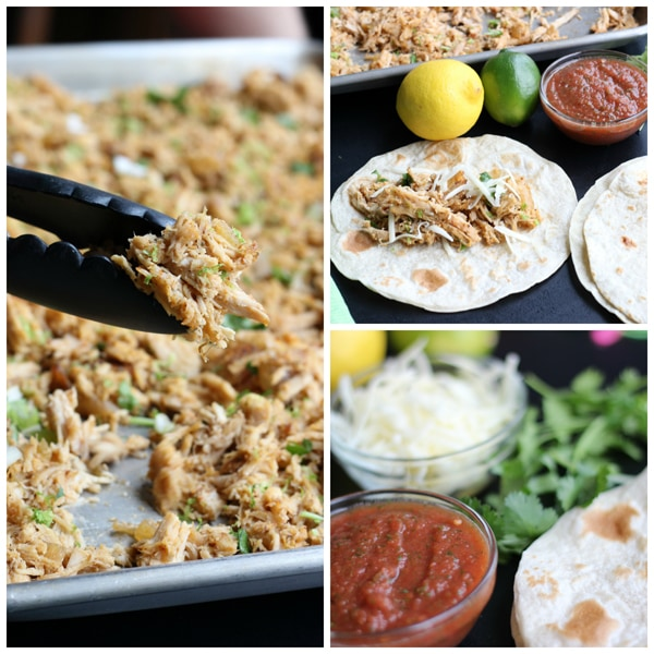 Honey Lemon Lime Carnitas Collage