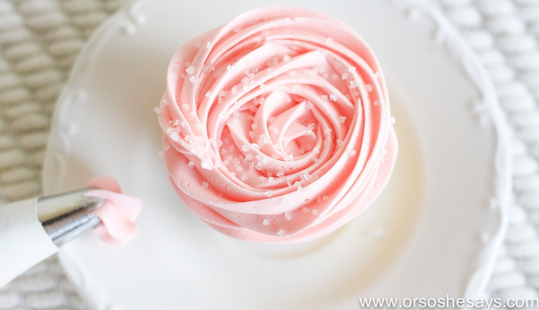 Best Birthday Cake Frosting Recipe- Or So She Says