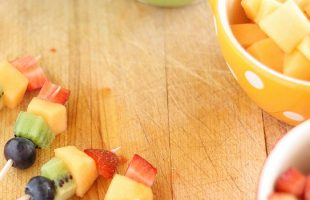 Mini Fruit Kabobs – Fun and Delicious Use of Summer Fruit! (she: Liz)