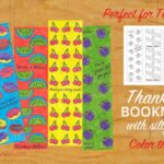 Thank You Bookmarks for Teachers – A Free Printable (she: Rachel)