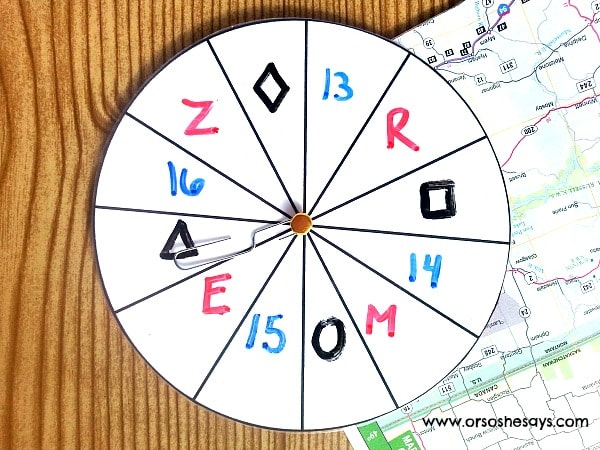The Best EVER Road Trip Game for Preschoolers - print the template for free at www.orsoshesays.com
