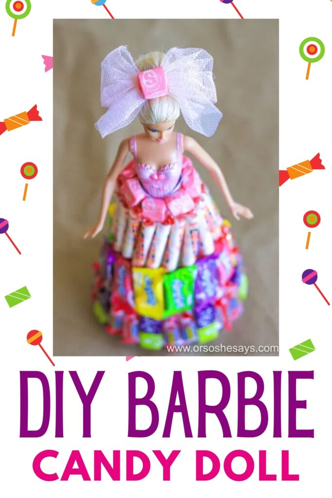 doll with candy dress