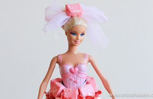 DIY Candy Doll – Using Supplies in the Recycle Bin! (she: Sierra)