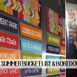 Printable Summer Bucket List + Boredom Busters (she: Colette)