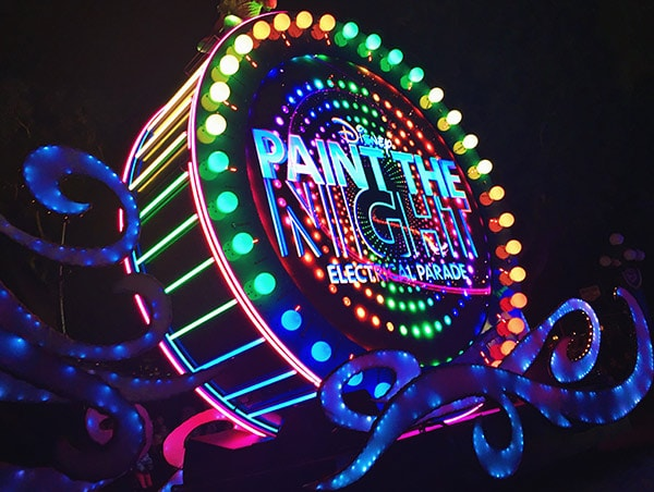 Paint The Night at Disneyland this Summer