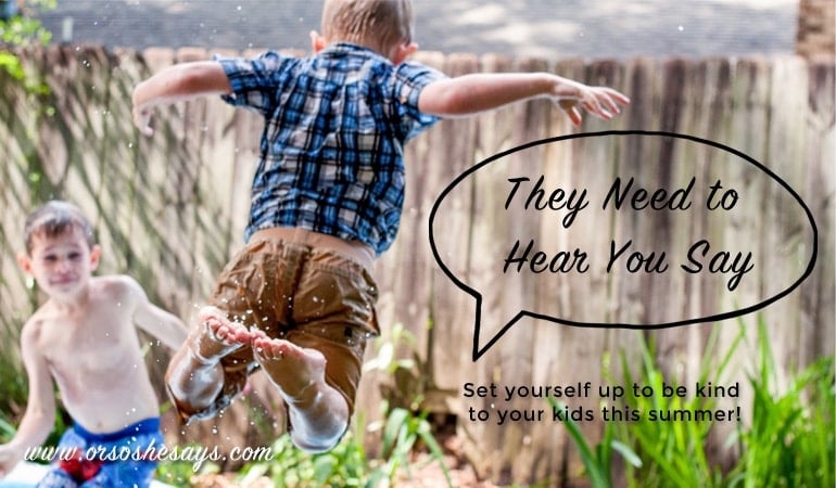 Reinforce Good Behavior – They Need to Hear You Say… (she: Rachel)