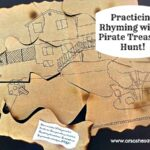 Practicing Rhyming with a Pirate Treasure Hunt! (she: Jessie)