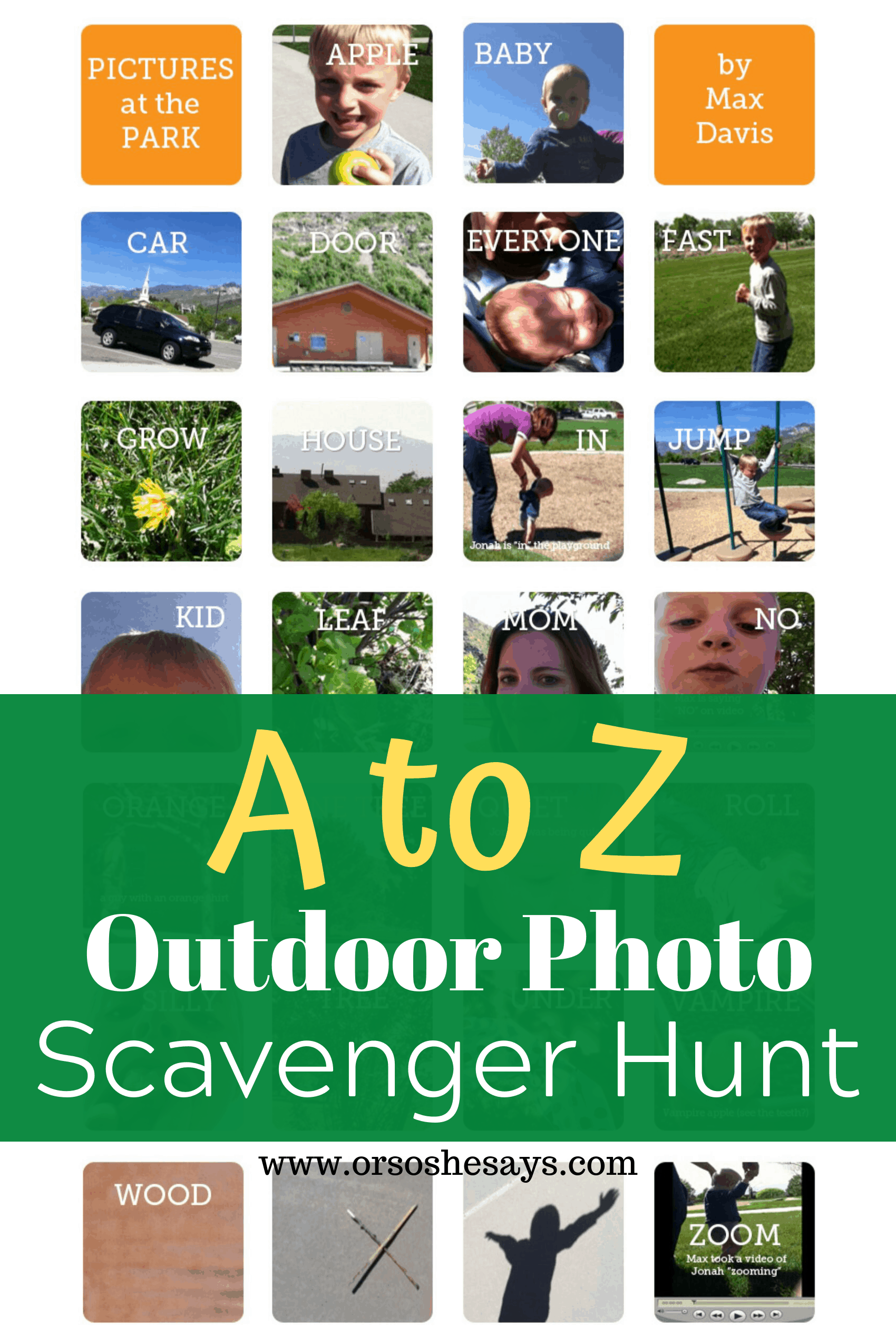 photo scavenger hunt