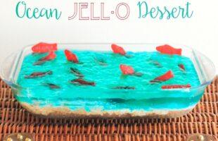 Ocean Jello Dessert – Create a Splash at Your Next Summer Party! (she: Sierra)