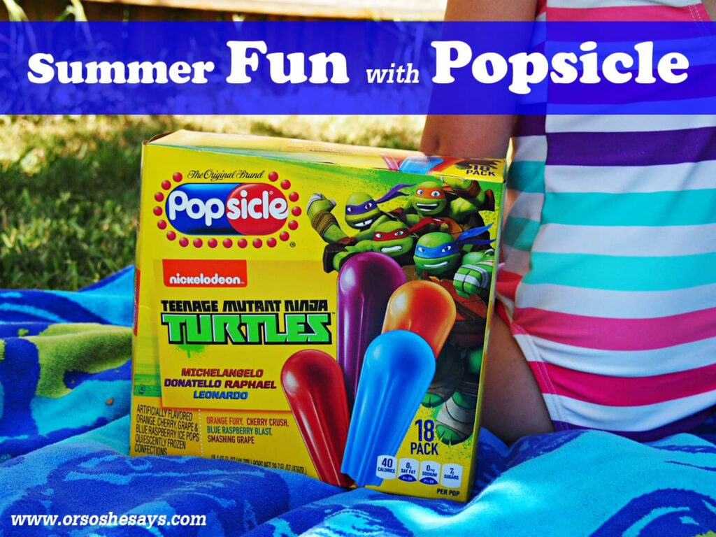 Popsicle invitations inspired by the one-and-only iconic summer treat! See how easy it is to create your own invites and enjoy Popsicles at your next summer party. www.orsoshesays.com