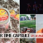 FREEBIE Make a Summer Time Capsule in a Jar and preserve all the summer memories you and kids have made during school break! Get the free printable and instructions on www.orsoshesays.com.