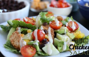 BBQ Chicken Salad (she: Leesh & Lu)