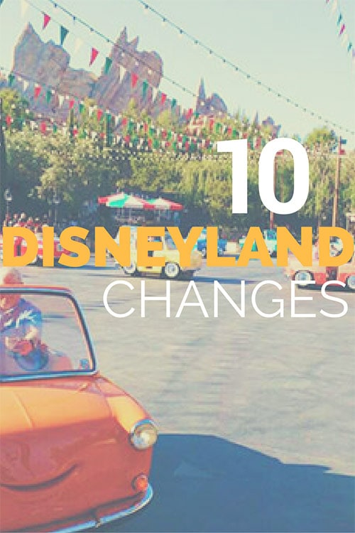 We've got the scoop on a number of upcoming Disneyland changes happening soon! Check them out and plan your next trip accordingly!