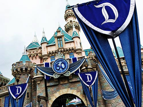 Disneyland Changes Diamond Celebration Castle