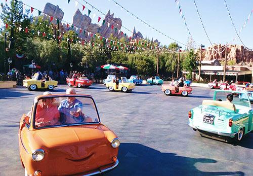 Disneyland Changes New Luigi's Rollickin Roadsters