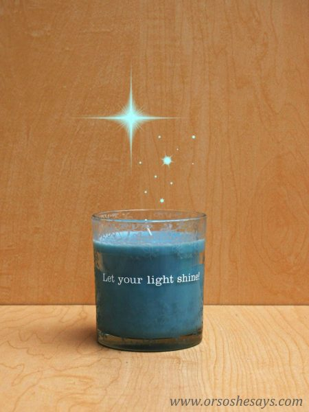 DaySpring candle