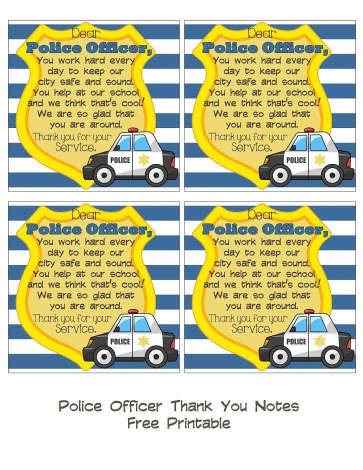 how to take notes as a police officer examples