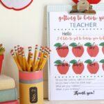 Free Printable Teacher Survey – Get to Know Your Kids' Teachers! (she: Liz)