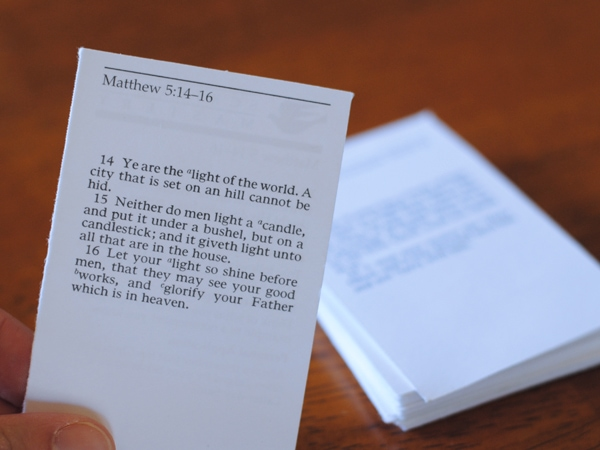 Amidst the hustle and bustle of work, school, family and church obligations, it can be easy to let things slide. Adelle has some simple ways we can add the Scriptures into each day. See her ideas on www.orsoshesays.com today!