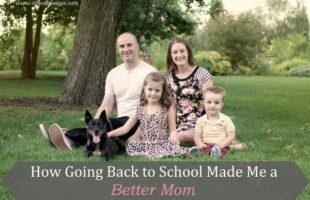 How Going Back to School Made Me a Better Mom (she: Liv)